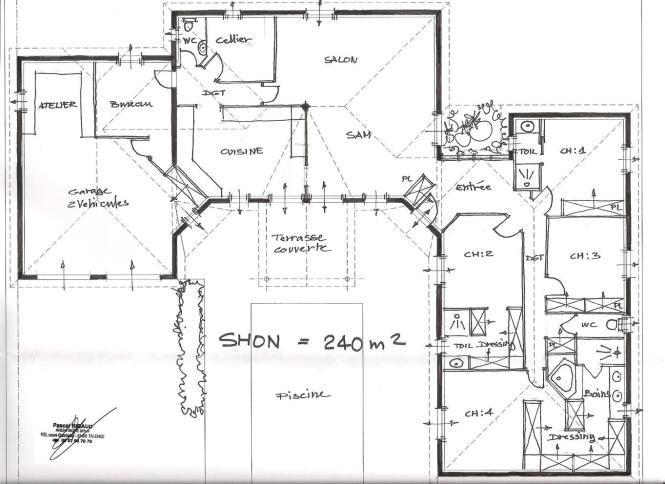 10 Maison Plan Architecte Gratuit En 2020 Plan Architecte Plan Maison Plan Maison Architecte