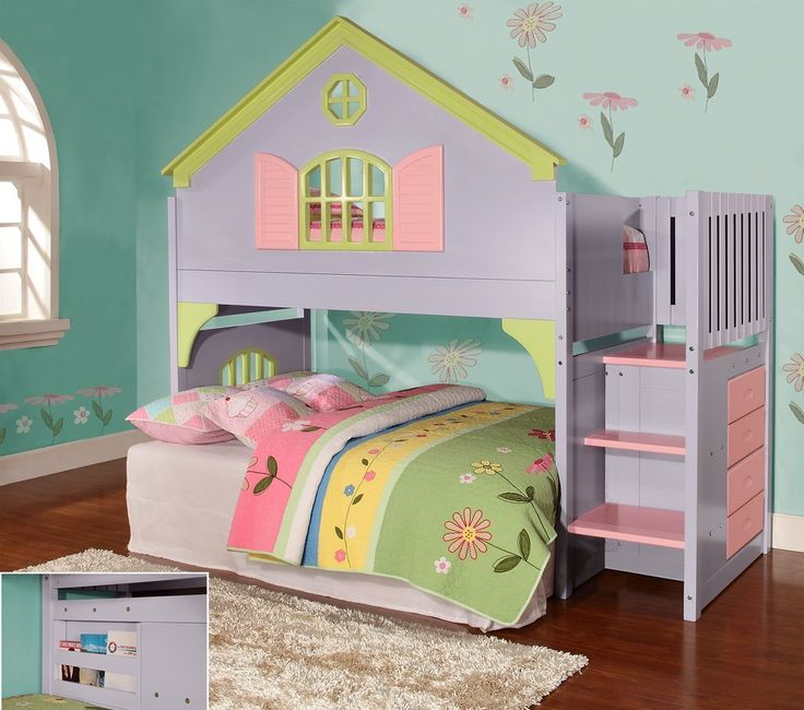 Twin-Doll-House-Stair-Step-Loft.jpg (1080×955)
