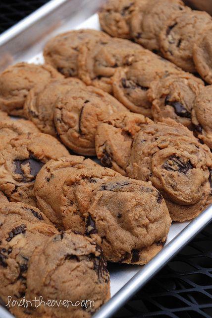 Dark Chocolate, Peanut Butter cookies