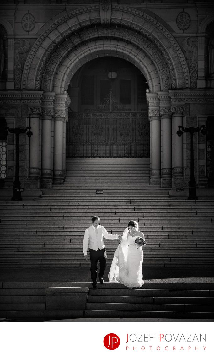 Best Award winning Vancouver wedding photographers Povazan Photography - Best Parliament Building Wedding Photographers pictures: Best Parliament Building Wedding Photographers pictures in Victoria BC were created by Award winning destination wedding photographer Jozef Povazan. Vancouver Island has many unique venues for the most demanding clients and this old continent European architecture popular locations are nothing short of spectacular. Stairs at BC Parliament building are one of…