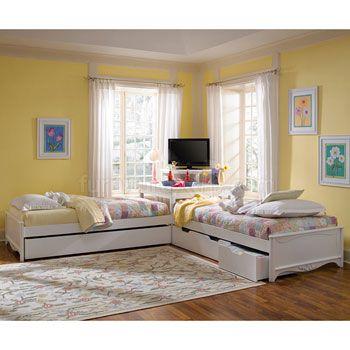 Best Haley Two Platform Beds W Corner Unit By Lea Industries 400 x 300