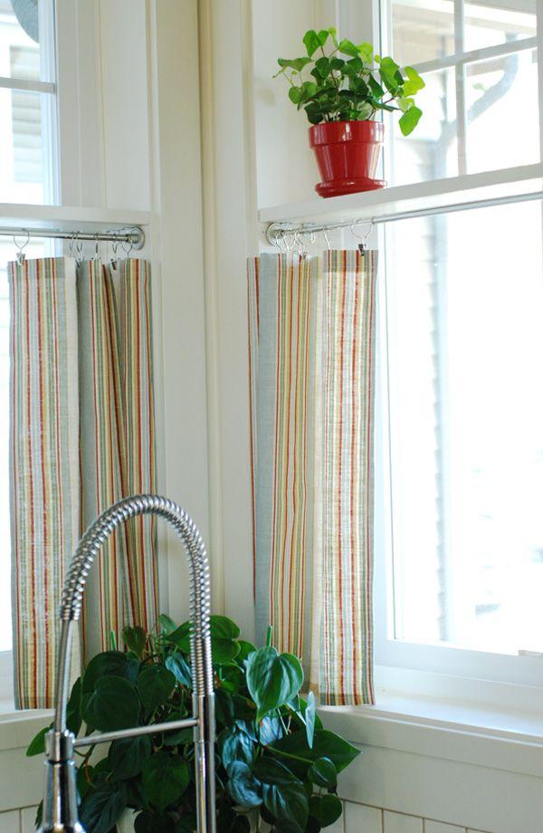 Mini Manor Blog - Shelves in kitchen window