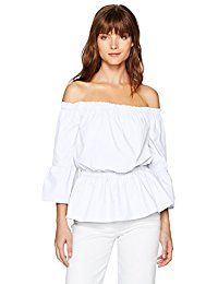 New kensie Women's Oxford Shirting Off The Shoulder Top online. Find the perfect For G and PL Tops-Tees from top store. Sku MRZO86902WEOM20395