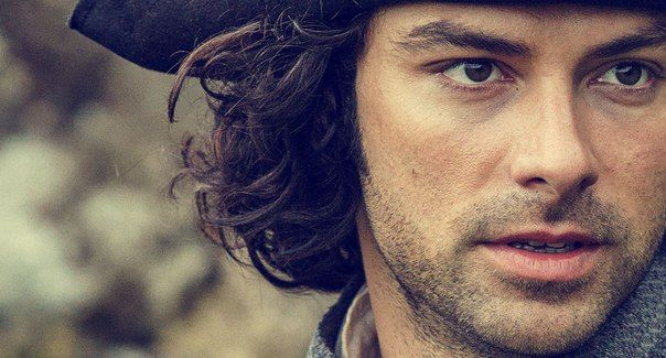 In this  interview with the BBC  Aidan Turner talks about  Poldark, playing the lead character Ross and, of course,  Poldarked's favour...