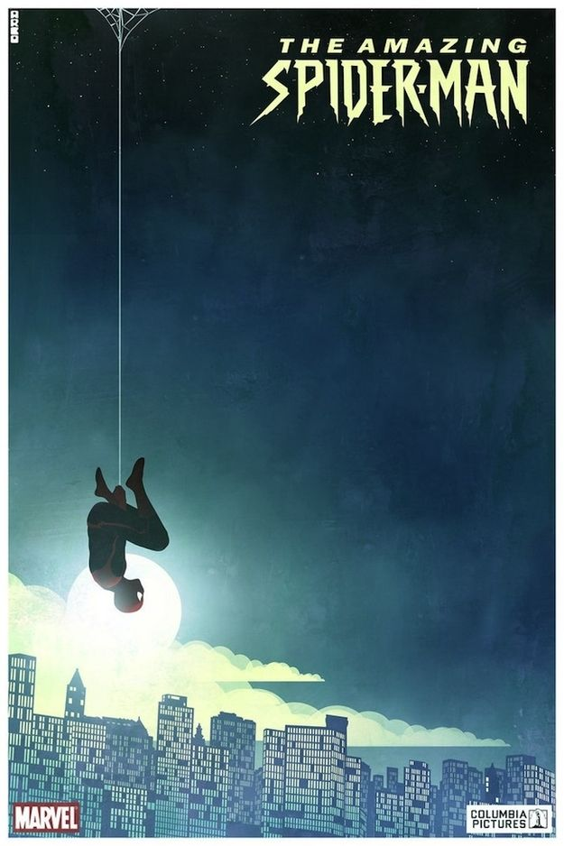The Amazing Spider-Man | 24 Unofficial Movie Posters That Are Better Than The Real Posters