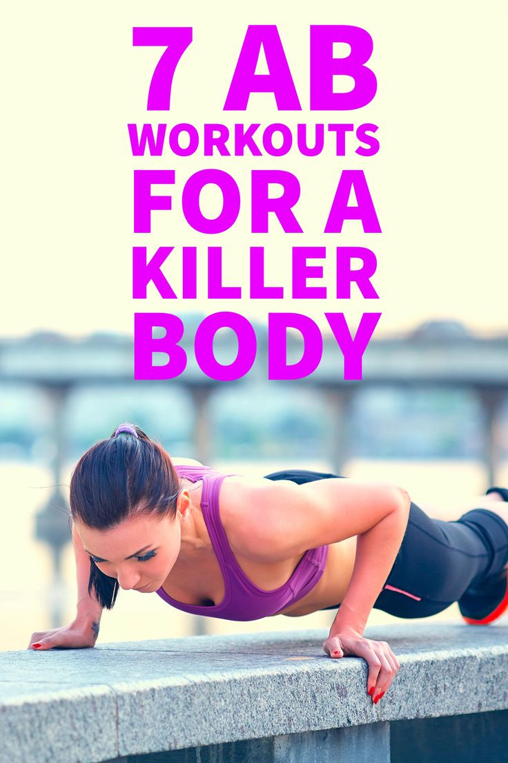 7 Ab Workouts for a Killer Body | Stomach Exercises | Best Ab Workouts