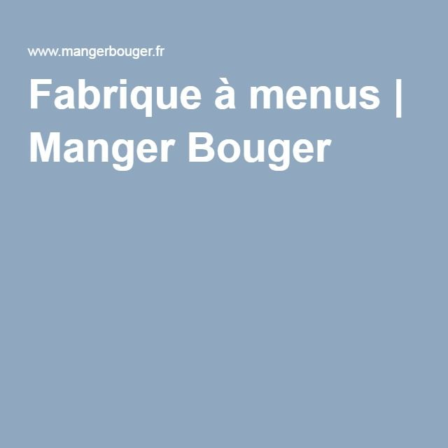 25 best ideas about manger bouger fr on top margin cerise en anglais and recettes