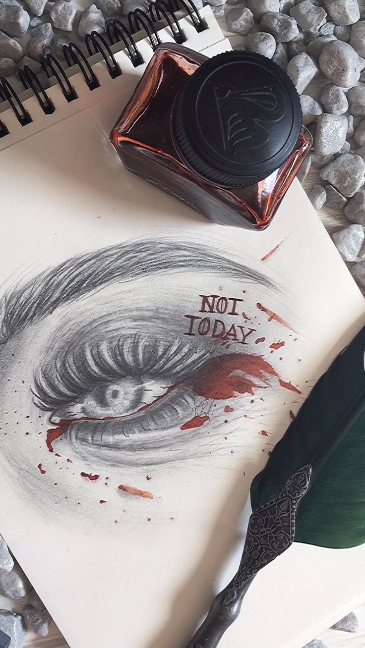 Game Of Thrones Inspired Tutorial zum Zeichnen von Augen