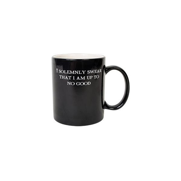 Harry Potter I Solemnly Swear Mischief Managed Transforming Mug... ($25) ❤ liked on Polyvore featuring harry potter, drinks, fillers, hogwarts and home