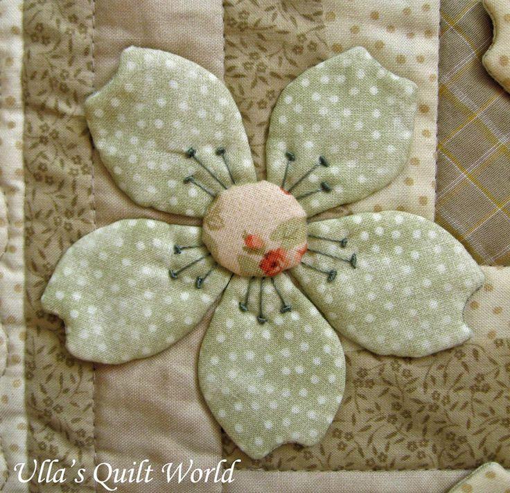 This quilt blanket is my design.   Tämä tilkkutyöpeitto on minun suunnittelema.       Just click the photo and it will become bi...