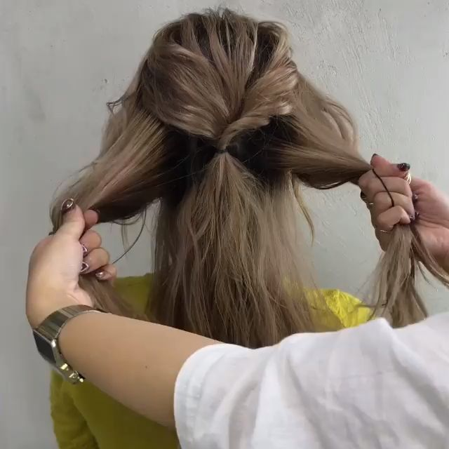 Schnell und einfach -> Tutorials für langes Haar!  #einfach #langes #schnell #t…