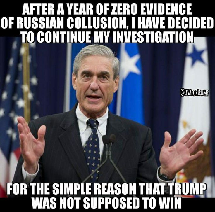Mueller is working tirelessly to fabricate evidence (bc there is none) to impeach Trump while draining taxpayer money. His corruption dates all the way back to the Clinton years. (So does Comey's). There Is nothing fair, unbiased or respectful about him. Don't be gullible.  Trump was spied on illegally by the Obama administration. If there were a shred of collusion, it would have been exposed long ago. #wakeup ~C