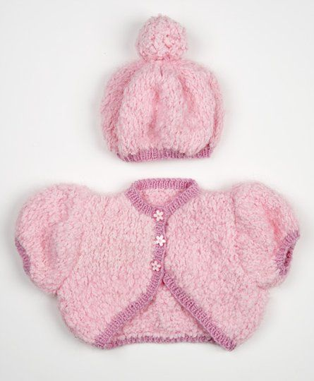 Bella Baby Knitting Patterns : BELLA BABY PARADE BOLERO & BERET - Project - Spotlight Australia CRAFTS...