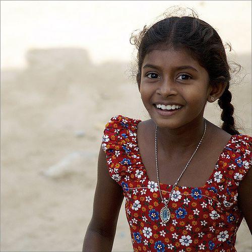 Asia. South Asia. Sri Lankan girl. Sri Lanka is the only country that is majority Buddhist. SRI LANKA