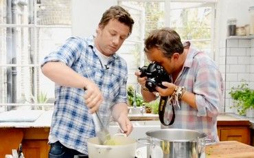 Food Photography with David Loftus and Jamie Oliver