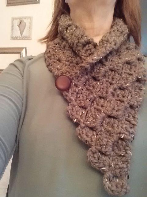 Ravelry: C2C scarf pattern by Carolyn Conrad