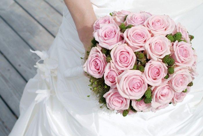 Brautstrauß hell