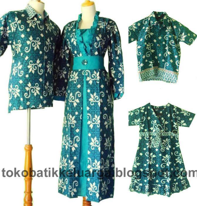 batik sarimbit keluarga gamis muslim modern SK17 murah di toko baju batik online http://tokobatikkeluarga.blogspot.com/