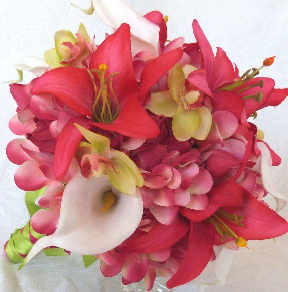 Les 25 meilleures id es de la cat gorie mariage for Bouquet de fleurs wine