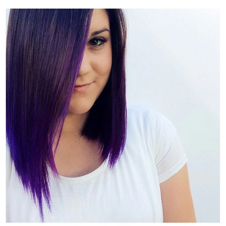 Purple hair don't care! ! How did we get this look? Find out here