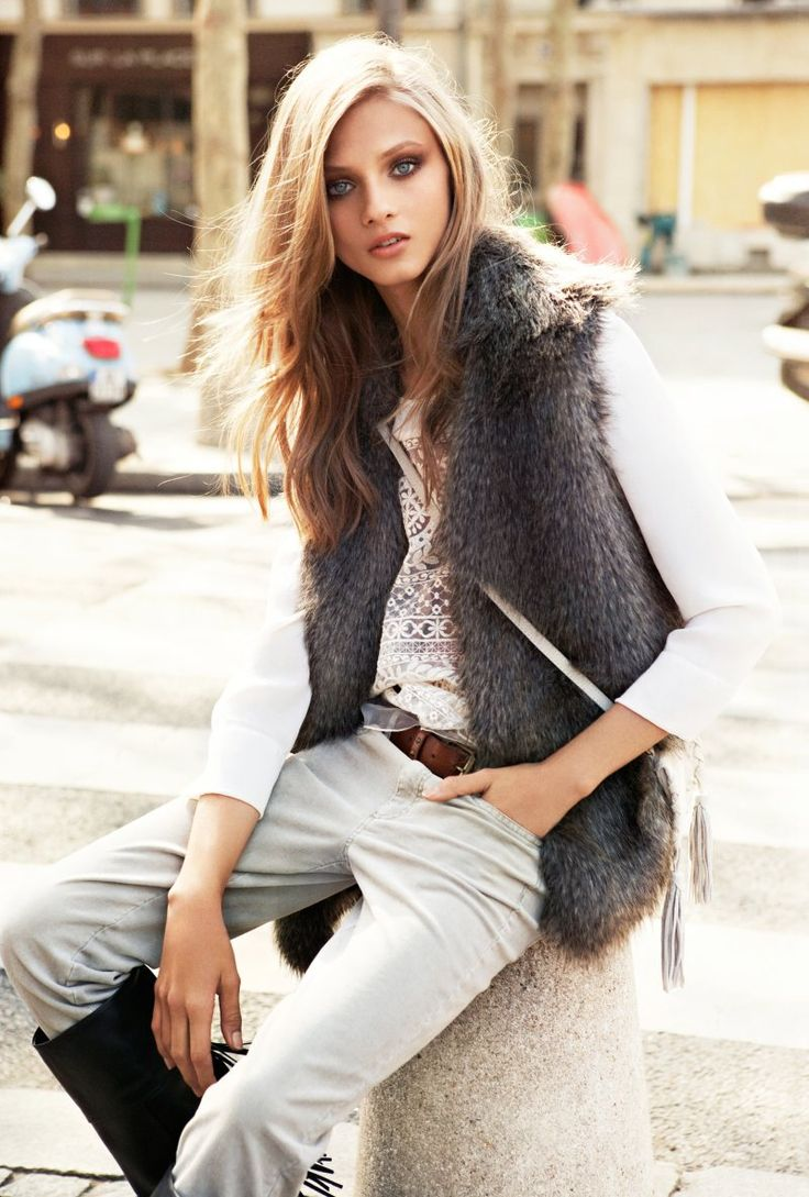 All the pictures are just... Wowww !!!   Anna Selezneva for Mango