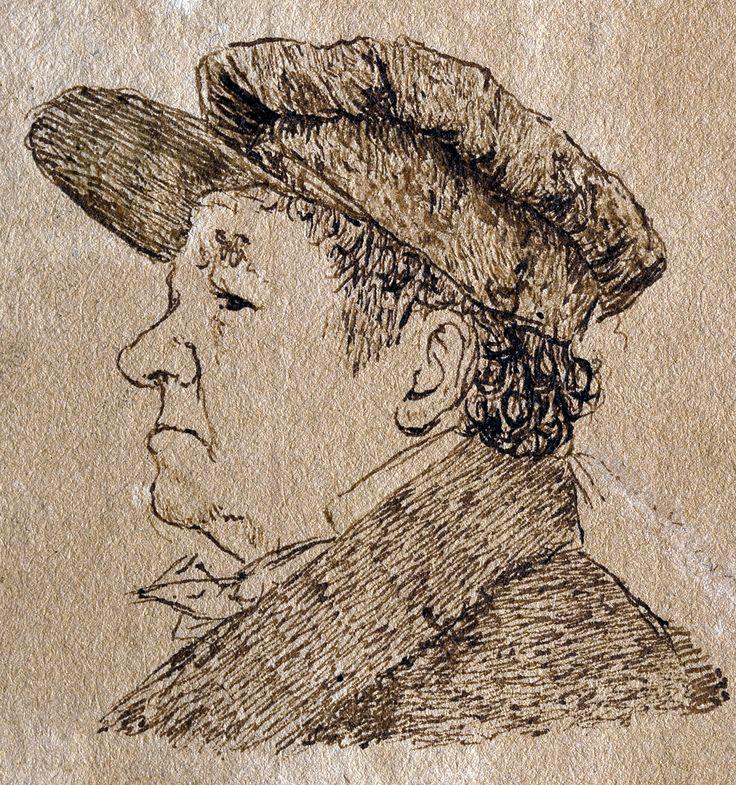 Autorretrato con gorra (Goya) - Francisco de Goya - Wikipedia, la enciclopedia libre