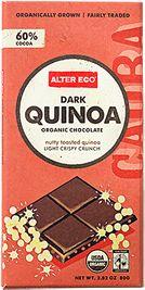 ALTER ECO Dark Quinoa | light crispy crunch, an artisan update on a nostalgic childhood treat