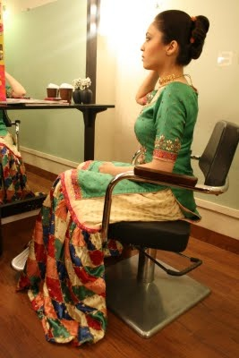 I love chatapatti gharara's - a hint to what I wore at one of my sister's #wedding events! #fb #desi #fashion