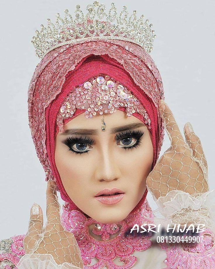 "326 Suka, 5 Komentar - ASRI HIJAB (@asri_hijab_wedding_organizer) di Instagram: ""ASRI HIJAB RIAS PENGANTIN KHUSUS HIJAB,  SPESIALIS MAKE UP NO CUKUR ALIS DGN PERIAS2 WANITA TULEN…"""