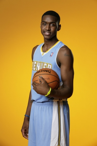 #Nuggets forward Quincy Miller at the NBA rookie photo shoot.    Steven Freeman/NBAE/Getty Images
