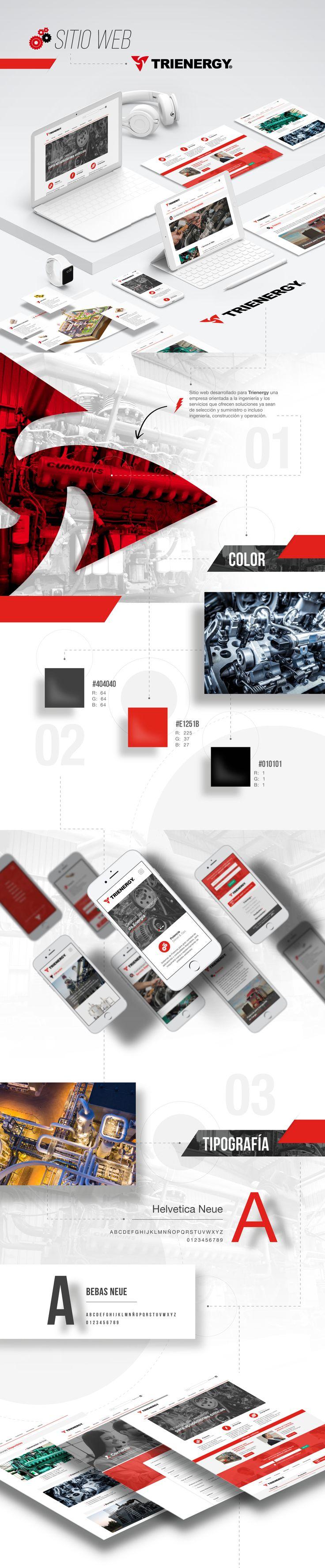 "Echa un vistazo a mi proyecto @Behance: ""SITIO WEB TRIENERGY"" https://www.behance.net/gallery/61106213/SITIO-WEB-TRIENERGY"