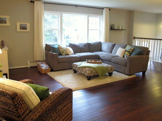 Ranch house living room design