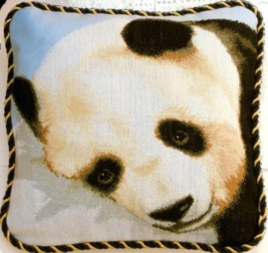Counted cross stitch kit Charivna mit 407 Panda by SuperHobby