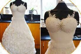 Vi sembrerà un vestito ma che ci crediate si o no questa é una torta