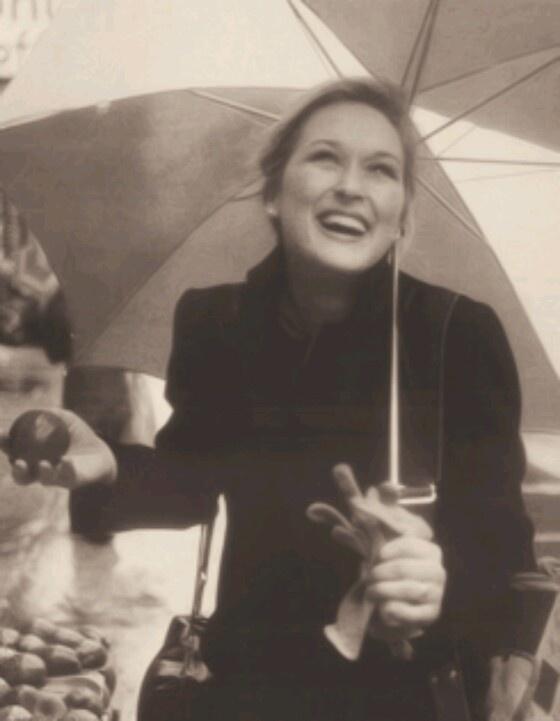 Meryl Streep; A smile is timeless