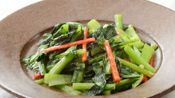 青菜炒めの人気レシピ・作り方 | 素人の味から今日で卒業、家庭で作れるプロの絶品レシピ! ゼクシィキッチンでかんたん・おいしい