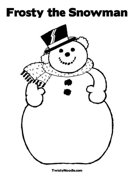the big of frosty snowman coloring for kids frosty coloring pages kidsdrawing free coloring pages online - Frosty Snowman Coloring Pages