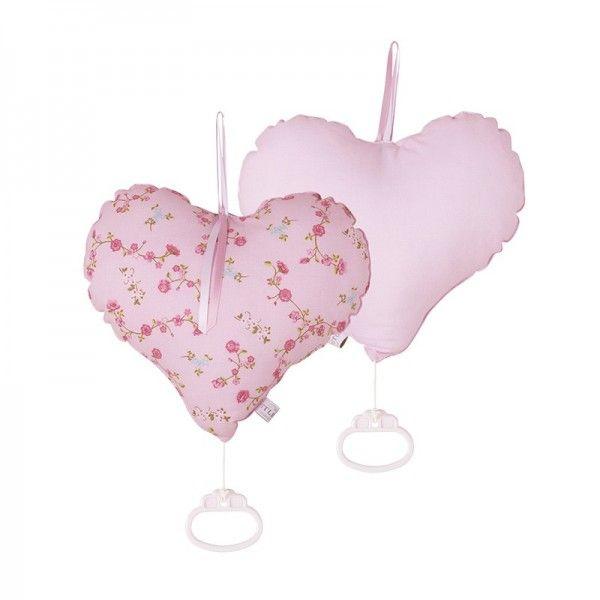 #LittleDutch #hart muziekdoos #pink #blossom #heart #music box #toy #bunny #baby #nursery #kidsroom #littlethingz2