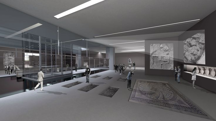 A-G ARCHITECTS (Anda Anastasopoulou-Vasilis Ghikapeppas) Archaelogical Thematic Museum of Piraeus-Greece 2015 Entry in Architectural Competition