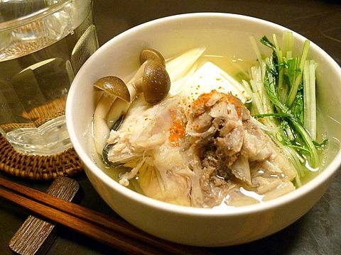 ☆おっさんひとり飯(旧サイト): トロトロのブリあらとシャキシャキの水菜を味わう。「ブリあらのはりはり鍋」