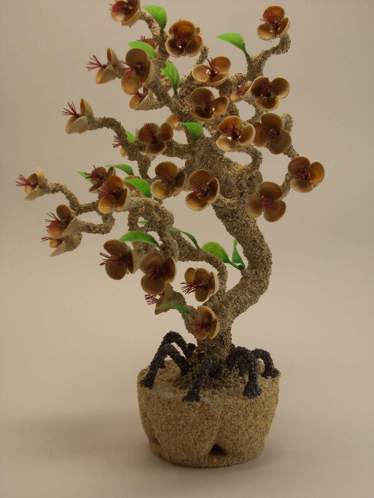 дерево из ракушек картинки декоративный эффект поможет