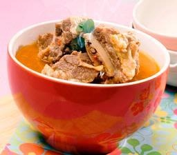 Please visit http://icooking.info/indonesian-recipes-romot-bebalung/ to see the recipes