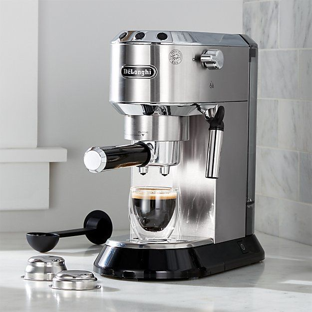 Delonghi Dedica Slimline Espresso Maker Reviews Crate And Barrel Espresso Machine Coffee Maker Espresso Maker