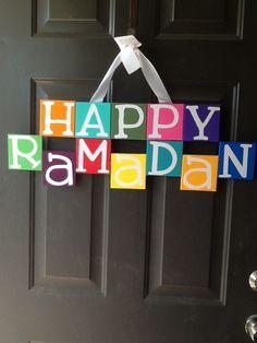 Ramadan door wreath hanger