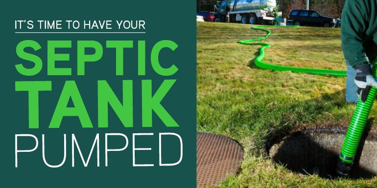 It's Time to Have Your Septic Tank Pumped If your plumbing system is hooked up to a septic tank instead of a central sewer system, you must give it the maintenance it requires to avoid backups, blockages, drainfield floods, and other septic tank problems. One of the most critical maintenance tasks is to have your septic tank pumped on a routine basis. Learn more about what this entails and how often to have the job performed.