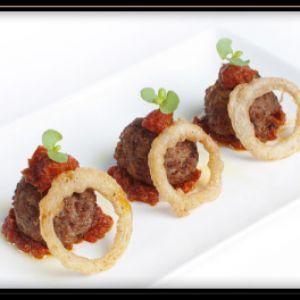 Retete culinare, Retete Aperitive - Reteta Chiftelute mici cu ceapa