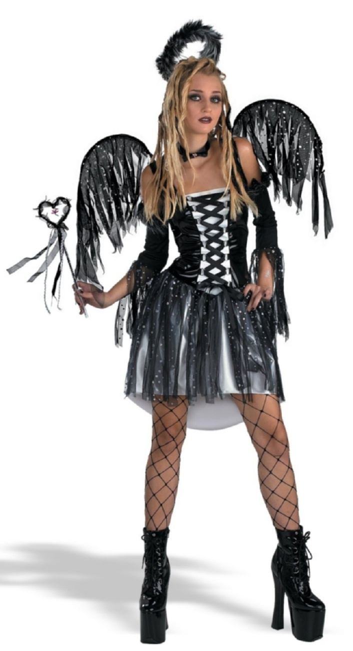 25 best ideas about black angel costume on pinterest black angel wings dark angel costume. Black Bedroom Furniture Sets. Home Design Ideas