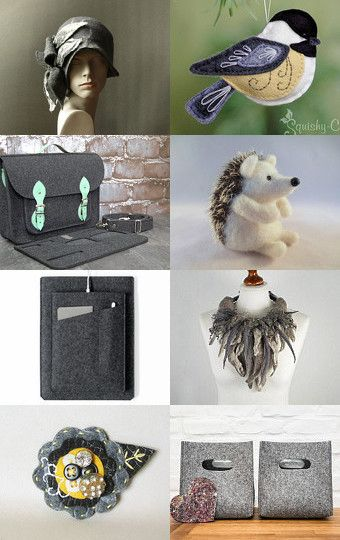 Felted World by Ilona on Etsy--Pinned with TreasuryPin.com