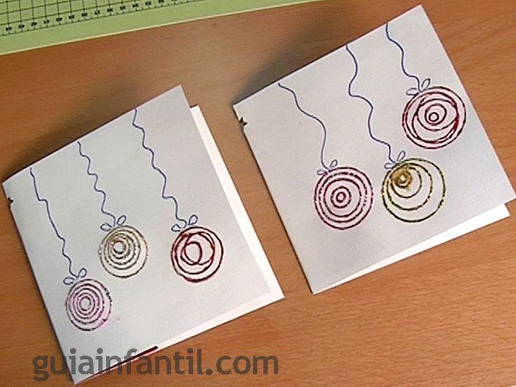 postales de navidad para nios rbol en d
