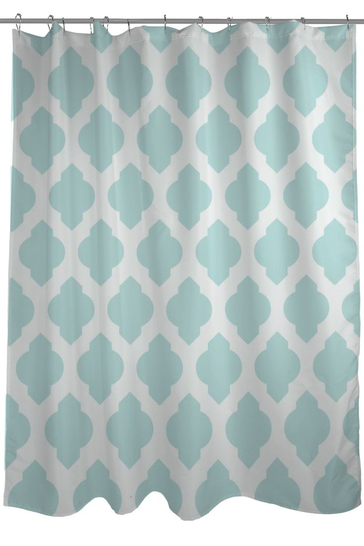 All Over Moroccan Shower Curtain